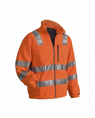 Blaklader 4853 Fleece Jacket High Visibility (Orange)